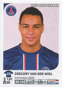 Gregory van der Wiel (Paris Saint-Germain)