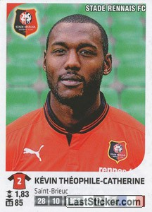 Kevin Theophile-Catherine (Stade Rennais FC)