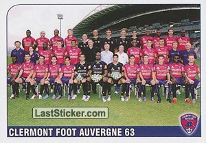 Equipe Clermont Foot Auvergne 63 (Clermont Foot Auvergne 63)