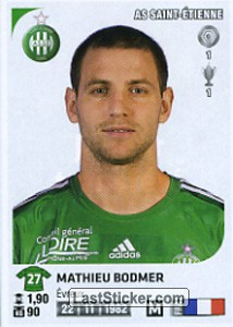 Mathieu Bodmer (AS Saint-Etienne)