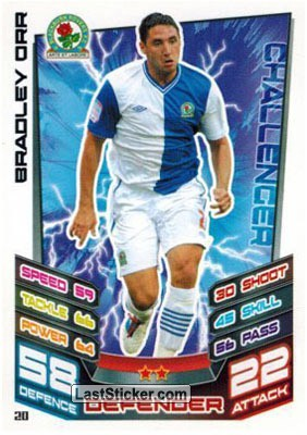 Bradley Orr (Blackburn Rovers)