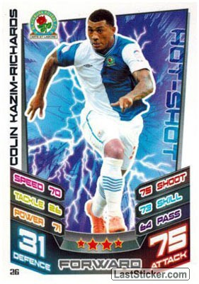 Colin Kazim-Richards (Blackburn Rovers)