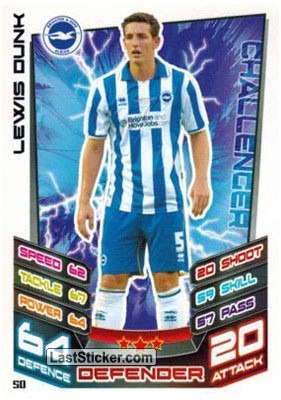 Lewis Dunk (Brighton And Hove Albion)