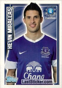 Kevin Mirallas (Everton)