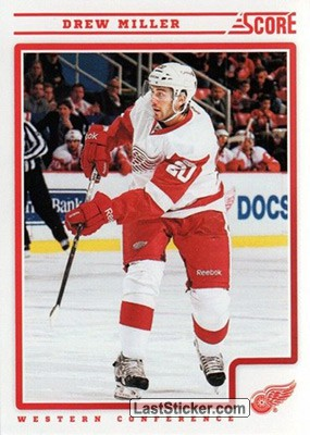 Drew Miller (Detroit Red Wings)