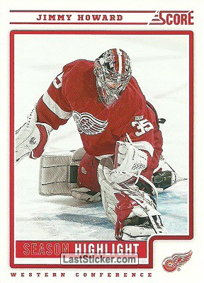 Jimmy Howard (Detroit Red Wings)