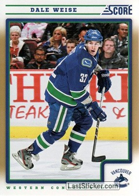 Dale Weise (Vancouver Canucks)