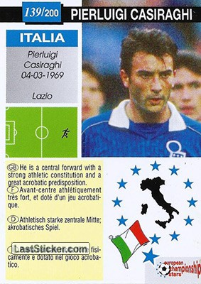 Pierluigi Casiraghi (Italia) - Back