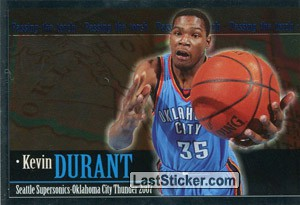 Kevin Durant (Passing the torch)