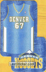 Team Kit-Denver NUGGETS (Denver NUGGETS)