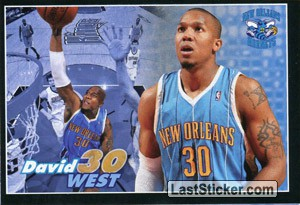 David West (New Orleans HORNETS)