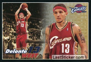 Delonte West (Cleveland CAVALIERS)
