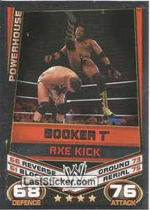 Booker T - Axe Kick (Signature Move)