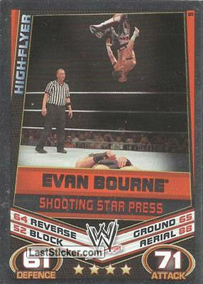 Evan Bourne - Shooting Star Press (Signature Move)