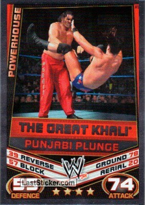The Great Khali - Punjabi Plunge (Signature Move)