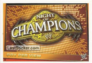 Night Of Champions (Pay Per View)
