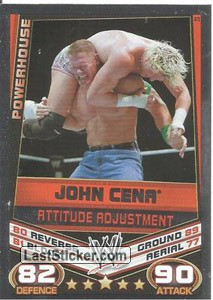 John Cena - Attitude adjustment (Signature Move)