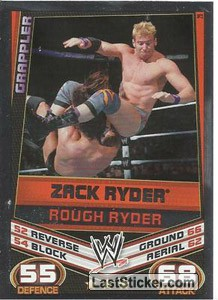 Zack Ryder - Rough Ryder (Signature Move)