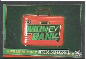WWE Money in the bank briefcase (Title Belt)