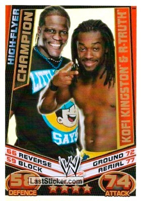Kofi Kingston & R-Truth (Champion)