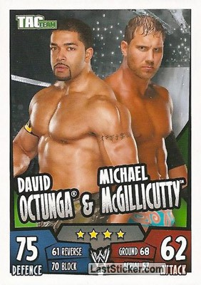David Otunga & Michael McGillicutty (Tag Team)