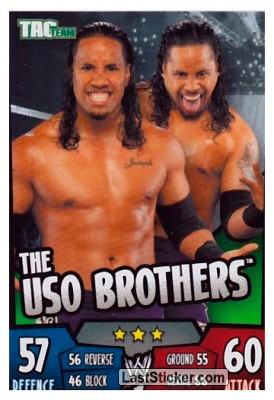 The Uso Brothers (Tag Team)