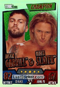 Justin Gabriel & Heath Slater (Champion)