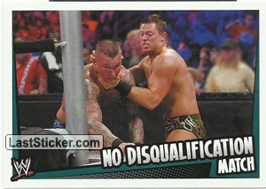 No Disqualification Match (Match Type)