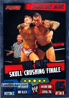 The Miz - Skull crushing finale (Signature Move)
