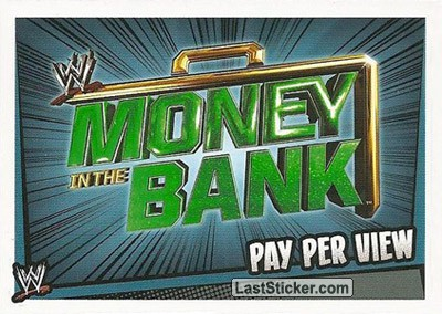 Money In The Bank (Pay Per View)