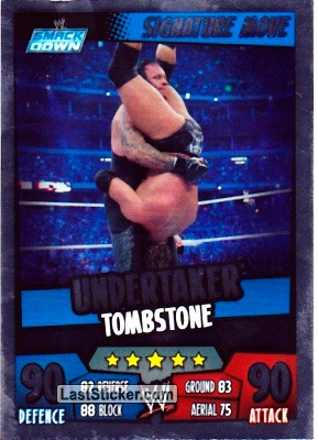 Undertaker - Tombstone (Signature Move)