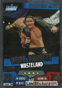 Wade Barrett - Wasteland (Signature Move)