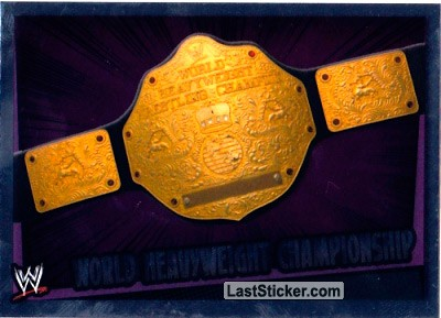 World Heavyweight Championship (Title Belt)