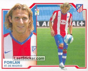 8) Forlán ( At.Madrid) (Ultimos Fichajes)