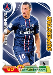 Zlatan Ibrahimovic (Paris Saint-Germain)