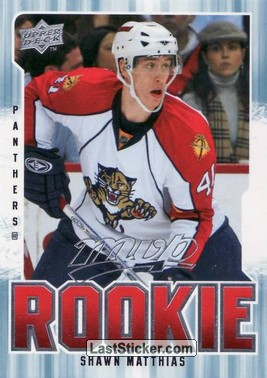 Shawn Matthias (Florida Panthers)