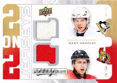 Sidney Crosby / Dany Heatley / Jason Spezza / Rick Nash (Pittsburgh Penguins / Ottawa Senators / Columbus Blue Jackets)