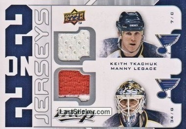 Keith Tkachuk / Manny Legace / Rick Nash / Pascal Leclaire (St. Louis Blues / Columbus Blue Jackets)