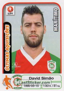 David Simao (Maritimo) (Ultimas Aquisicoes)