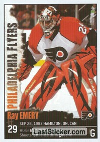 Ray Emery (Philadelphia Flyers)