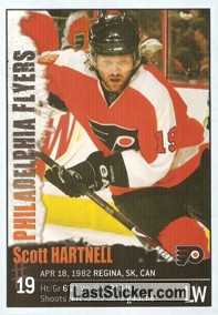 Scott Hartnell (Philadelphia Flyers)