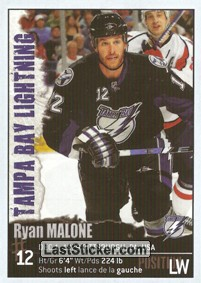 Ryan Malone (Tampa Bay Lightning)