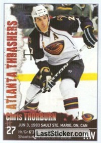 Chris Thorburn (Atlanta Thrashers)