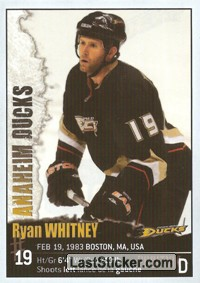 Ryan Whitney (Anaheim Ducks)