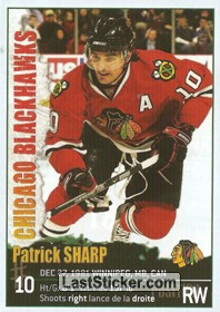 Patrick Sharp (Chicago Blackhawks)