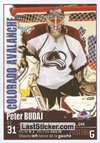 Peter Budaj (Colorado Avalanche)