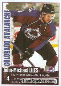John-Michael Liles (Colorado Avalanche)