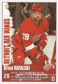 Brian Rafalski (Detroit Red Wings)