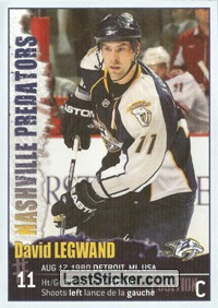 David Legwand (Nashville Predators)