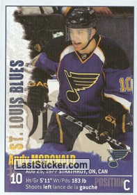 Andy McDonald (St. Louis Blues)